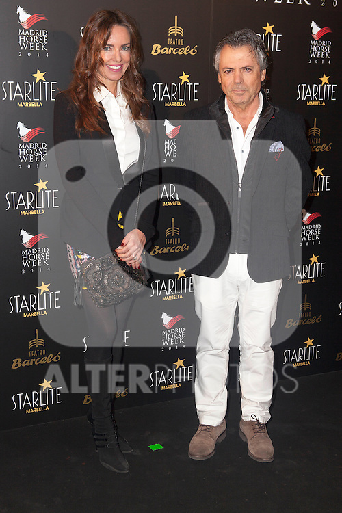 Eva Medina (L) attends Starlite 2015 presentation party at the Barcelo Theater on November 26, 2014 in Madrid, Spain.(ALTERPHOTOS / Nacho Lopez)