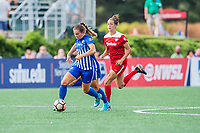 Boston, MA - Saturday July 01, 2017: Emilie Haavi during a regular season National Women's Soccer League (NWSL) match between the Boston Breakers and the Washington Spirit at Jordan Field.