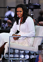 NEW YORK, NY - OCTOBER 11:  Michelle Obama on NBC's Today promoting and celebrating International Day of the Girl in New York City on October 11, 2018. Credit: John Palmer/MediaPunch