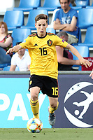 Yari Verschaeren of Belgium  in action<br /> Reggio Emilia 16-06-2019 Stadio Città del Tricolore <br /> Football UEFA Under 21 Championship Italy 2019<br /> Group Stage - Final Tournament Group A<br /> Poland - Belgium<br /> Photo Cesare Purini / Insidefoto