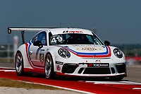 Porsche GT3 Cup Challenge USA<br /> Advance Auto Parts SportsCar Showdown<br /> Circuit of The Americas, Austin, TX USA<br /> Saturday 6 May 2017<br /> 49, Sebastian Landy, GT3P, USA, 2017 Porsche 991<br /> World Copyright: Jake Galstad<br /> LAT Images