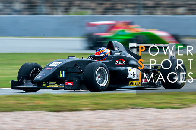 Matthew Swanepoel of South Africa and Arrows Racing drives during the Formula Masters China Series as part of the 2015 Pan Delta Super Racing Festival at Zhuhai International Circuit on September 20, 2015 in Zhuhai, China.  Photo by Aitor Alcalde/Power Sport Images