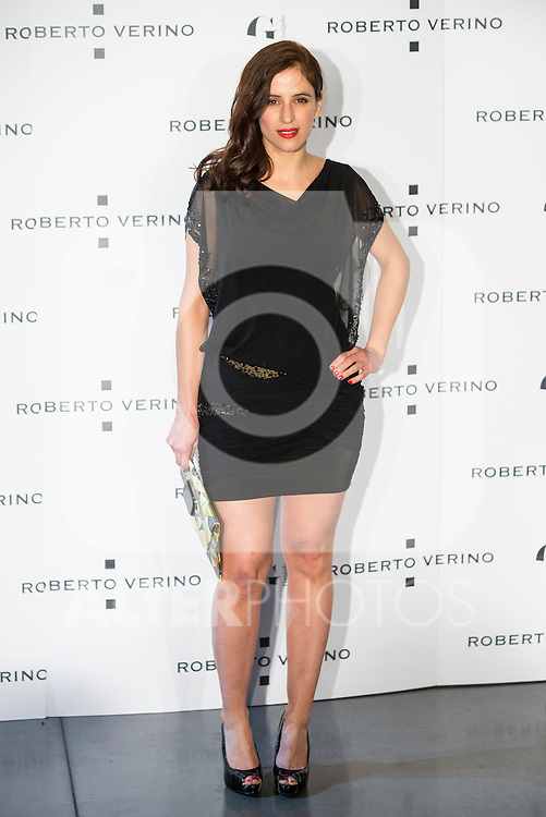 "Sara Ballesteros during the presentation of the new Spring-Summer collection ""Un Balcon al Mar"" of Roberto Verino at Platea in Madrid. March 16, 2016. (ALTERPHOTOS/Borja B.Hojas)"