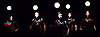Kodo<br /> Taiko Performing     Arts Ensemble<br /> 15th February 2016 <br /> at the Barbican Hall, Barbican Centre, London, Great Britain <br /> KODO ONE EARTH TOUR 2016: &lsquo;MYSTERY&rsquo;<br /> 15 performers; 36 drums weighing over 1,000 kg; 4 &lsquo;snakes&rsquo;; 1 &lsquo;lion&rsquo;<br /> <br /> Photograph by Elliott Franks <br /> Image licensed to Elliott Franks Photography Services