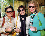 From left: Ana Mena, Leah Sheaffer and Melinda Liles at the Beastly Brunch at the Houston Zoo Sunday Feb. 28,2010. (Dave Rossman Photo)