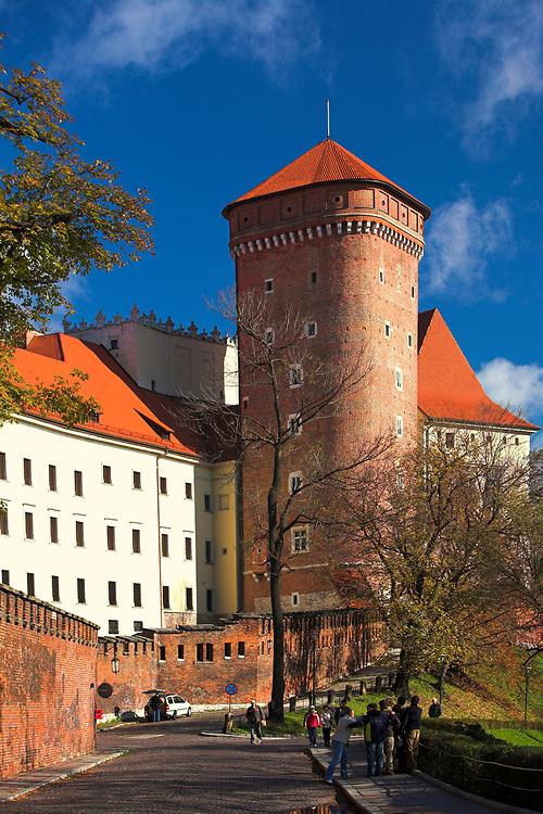 Baszta Senatorska, Wawel<br /> Senatorial Tower, Wawel castle, Cracow, Poland