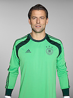 FUSSBALL   PORTRAIT TERMIN DEUTSCHE NATIONALMANNSCHAFT 24.05.2014 Torwart Roman Weidenfeller (Deutschland)