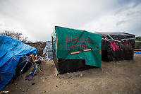 "Some volunteers sprayed messages about ""London""... <br />