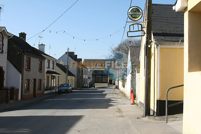 Harbour Road Clogherhead where a serious assault took place over the weekend...Photo NEWSFILE/Jenny Matthews.(Photo credit should read Jenny Matthews/NEWSFILE)....This Picture has been sent you under the condtions enclosed by:.Newsfile Ltd..The Studio,.Millmount Abbey,.Drogheda,.Co Meath..Ireland..Tel: +353(0)41-9871240.Fax: +353(0)41-9871260.GSM: +353(0)86-2500958.email: pictures@newsfile.ie.www.newsfile.ie.FTP: 193.120.102.198.