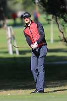 Sebastian Heisele (GER) on the 7th during Round 2 of the Challenge Tour Grand Final 2019 at Club de Golf Alcanada, Port d'Alcúdia, Mallorca, Spain on Friday 8th November 2019.<br /> Picture:  Thos Caffrey / Golffile<br /> <br /> All photo usage must carry mandatory copyright credit (© Golffile | Thos Caffrey)