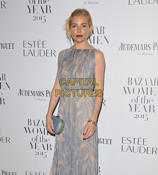 Sienna Miller attends the Harper's Bazaar Women of the Year Awards 2015, Claridge's Hotel, Brook Street, London, England, UK, on Tuesday 03 November 2015. <br /> CAP/CAN<br /> &copy;Can Nguyen/Capital Pictures