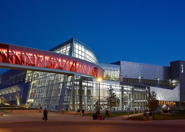 The Ohio State University Recreation & Physical Activity Center (RPAC)   Antoine Predock & Moody Nolan