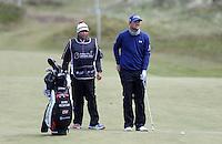 Friday 29th May 2015; Bernd Wiesberger, Austria, on the 8th fairwayy<br /> <br /> Dubai Duty Free Irish Open Golf Championship 2015, Round 2 County Down Golf Club, Co. Down. Picture credit: John Dickson / SPORTSFILE