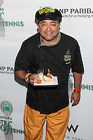 Chef Frank Madonado of Sazon &amp; Sofrito attends the 13th Annual 'BNP Paribas Taste of Tennis' at the W New York.  New York City, August 23, 2012. &copy;&nbsp;Diego Corredor/MediaPunch Inc. /NortePhoto.com<br />