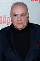 NEW YORK, NY - JANUARY 9: Vincent Curatola  at &ldquo;The Sopranos&quot; 20th Anniversary Panel Discussion at SVA Theater on January 9, 2019 in New York City. <br /> CAP/MPI99<br /> &copy;MPI99/Capital Pictures