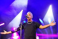 SÃO PAULO, SP, 18.06.2016 – SHOW-SP - O cantor Lulu Santos durante show da turnê ClubeLux no Espaço das Américas zona oeste de São Paulo, na noite deste sábado (18). (Foto: Renato Gizzi/Brazil Photo Press)