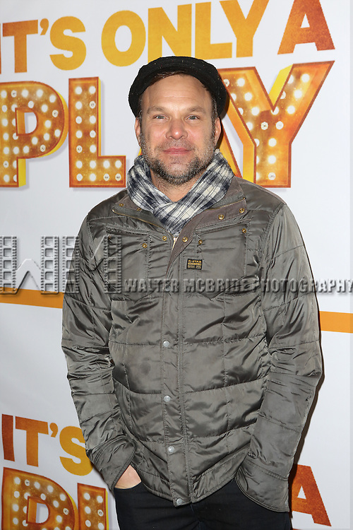 Norbert Leo Butz attends the Re-Opening Night of 'It's Only A Play'  at the Bernard B. Jacobs Theatre on January 23, 2014 in New York City.
