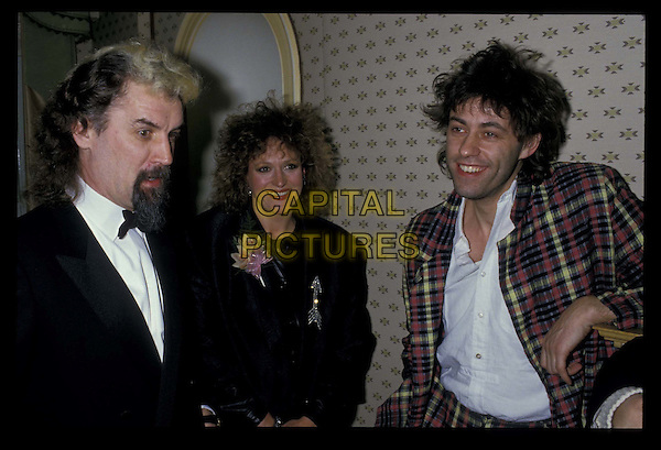 BILLY CONNOLLY,  BARBARA DICKSON & BOB GELDOF.Ref: 026.half length, half-length.*RAW SCAN- photo will be adjusted for publication*.www.capitalpictures.com.sales@capitalpictures.com.©Capital Pictures