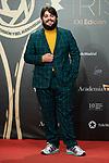 """Brays Efe attends """"Iris Academia de Television' awards at Nuevo Teatro Alcala, Madrid, Spain. <br /> November 18, 2019. <br /> (ALTERPHOTOS/David Jar)"""