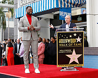 LOS ANGELES - JAN 30:  Curtis Jackson, 50 Cent, Chris Albrecht at the 50 Cent Star Ceremony on the Hollywood Walk of Fame on January 30, 2019 in Los Angeles, CA