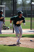 Mikey White - Oakland Athletics 2016 spring training (Bill Mitchell)