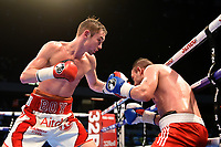 Boy Jones Jnr defeats Norbert Kalucsa during a Boxing Show at the Copper Box Arena on 20th May 2017