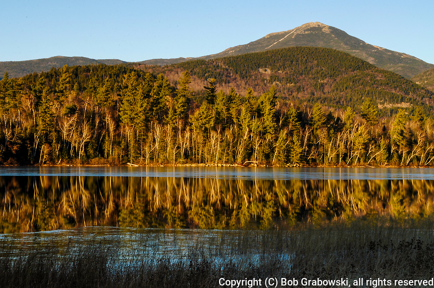 Whiteface Mt From Connery Pond, Adirondack Forest Preserve, New York