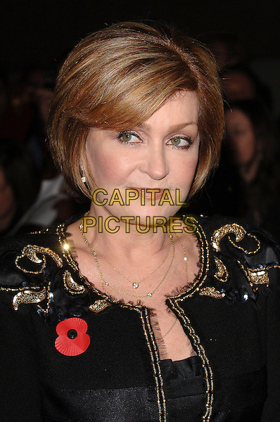 SHARON OSBOURNE.Attending The Daily Mirror's Pride Of Britain Awards,.London Television Studios, London, England,.November 7th 2006..portrait headshot poppy.Ref: BEL.www.capitalpictures.com.sales@capitalpictures.com.©Tom Belcher/Capital Pictures.