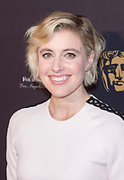 Greta Gerwig attends the BAFTA Los Angeles Awards Season Tea Party at Hotel Four Seasons in Beverly Hills, California, USA, on 06 January 2018. Photo: Hubert Boesl - NO WIRE SERVICE - Photo: Hubert Boesl/dpa /MediaPunch ***FOR USA ONLY***
