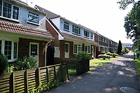 Tuesday 20 June 2017<br /> Pictured: The row of houses where Darren Osborne lives in the Pentwyn area of  Cardiff, Wales, UK<br /> Re: The man who drove the vehicle which drove into worshippers near a north London mosque has been named as Darren Osborne from Cardiff, South Wales