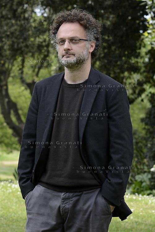 Roma, 22 Aprile 2014<br /> Casa del Cinema<br /> Photocall del film Il venditore di Medicine di Antonio Morabito.<br /> Nella foto:Antonio Morabito.