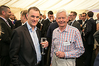 Chris Brown of Crowle Wharf Engineers and Hugh Dibley of New Brook Developments