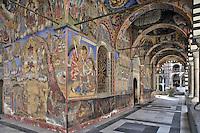 BG41177.JPG BULGARIA, RILA MONASTERY, CHURCH OF NATIVITY, frescoes