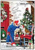 Jonny, CHRISTMAS SYMBOLS, WEIHNACHTEN SYMBOLE, NAVIDAD SÍMBOLOS, paintings+++++,GBJJXVC016,#xx#