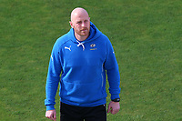 Frustration for Yorkshire head coach Andrew Gale as he walks off the pitch during Yorkshire CCC vs Essex CCC, Specsavers County Championship Division 1 Cricket at Emerald Headingley Cricket Ground on 16th April 2018
