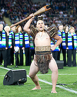Rugby World Cup Auckland  England v France  Quarter Final 2 - 08/10/2011.Maori warrior calling before the match.Photo Frey Fotosports International/AMN Images