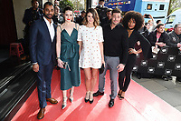 Karl Collins, Anna Passey, Sophie Porley, Duncan James &amp; Rachel Adedeji at the TRIC Awards 2017 at the Grosvenor House Hotel, Mayfair, London, UK. <br /> 14 March  2017<br /> Picture: Steve Vas/Featureflash/SilverHub 0208 004 5359 sales@silverhubmedia.com