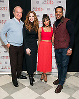 """NEW YORK - FEBRUARY 13: Kelsey Grammer, Rachelle Lefevre, Nikki M. James and Russell Hornsby attend a screening of FOX's """"Proven Innocent"""" at The Paley Center for Media on February 13, 2019 in New York City. (Photo by Ben Hider/Fox/PictureGroup)"""
