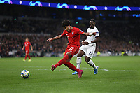Bayern Munich's Serge Gnabry scores his side's fourth goal <br /> <br /> Photographer Rob Newell/CameraSport<br /> <br /> UEFA Champions League Group B  - Tottenham Hotspur v Bayern Munich - Tuesday 1st October 2019 - White Hart Lane - London<br />  <br /> World Copyright © 2018 CameraSport. All rights reserved. 43 Linden Ave. Countesthorpe. Leicester. England. LE8 5PG - Tel: +44 (0) 116 277 4147 - admin@camerasport.com - www.camerasport.com