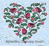 Kate, CHRISTMAS SYMBOLS, WEIHNACHTEN SYMBOLE, NAVIDAD SÍMBOLOS, paintings+++++Christmas page 87,GBKM229,#xx# ,hearts