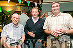 Enjoying the Na Gaeil GAA  25 years Celebration  of their clubhouse on Saturday were l-r  Dermot Reen, Pat Sheehy and Thomas Rooney