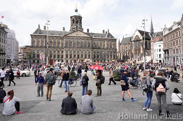 Nederland Amsterdam 2018. Paleis op de Dam. Foto Berlinda van Dam / Hollandse Hoogte