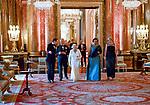 Queen Elizabeth Hosts CHOGM2018 Dinner