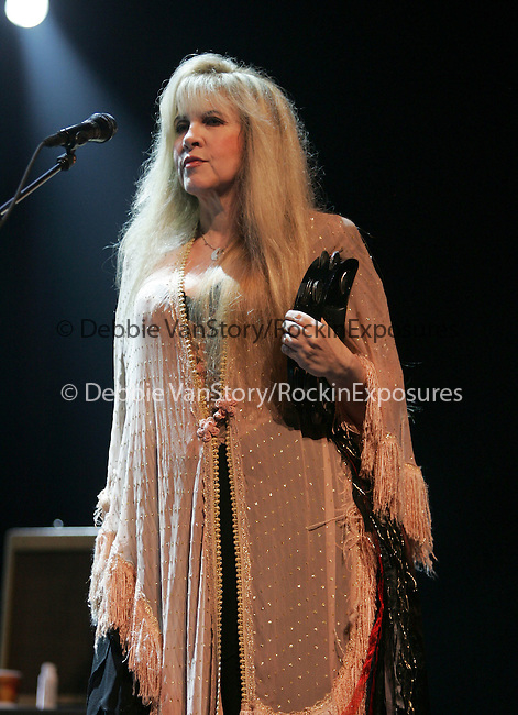 Honorary Heart Breaker Stevie Nicks performs live with  Tom Petty & The Heart Breakers at The Coors Ampitheatre in Chula Vista ,California on September 27,2006 .Copyright 2006 by RockinExposures
