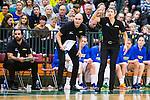 S&ouml;dert&auml;lje 2015-11-21 Basket EM-kval Sverige - Spanien :  <br /> Sveriges Head coach tr&auml;nare Jurgita Kausaite reagerar under matchen mellan Sverige och Spanien <br /> (Foto: Kenta J&ouml;nsson) Nyckelord:  T&auml;ljehallen Basket Landslag Landslaget Dam Damer Dambasket Dambasketlandslaget Basketlandslaget Sverige Sweden Svenska EM Kval EM-kval Spanien Spain Spanska portr&auml;tt portrait tr&auml;nare manager coach