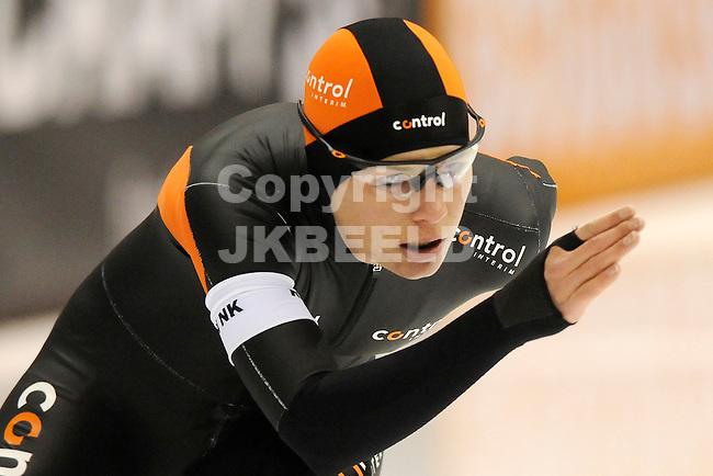 HEERENVEEN - Schaatsen, EK  kwalificatie dames 3000 meter, 27-12-2011, Diana Valkenburg