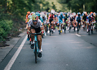 Lithuanian champion Gediminas Bagdonas (LTU/AG2R-LaMondiale) up front<br /> <br /> 98th Brussels Cycling Classic 2018<br /> One Day Race:  Brussels > Brussels (201km)