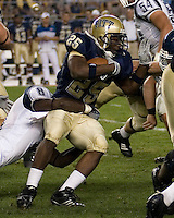22 September 2007: Pitt running back LeSean McCoy (25)..The Connecticut Huskies defeated the Pitt Panthers 34-14 on September 22, 2007 at Heinz Field in Pittsburgh, Pennsylvania.