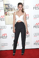 HOLLYWOOD, CA - NOVEMBER 03: Kristen Stewart at the 'On The Road' premiere during the 2012 AFI Fest presented by Audi at Grauman's Chinese Theatre on November 3, 2012 in Hollywood, California. Photo By mpi22/MediaPunch Inc. .<br />