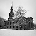 St Paul's in the Snow